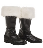 Leather boots - artificial leather