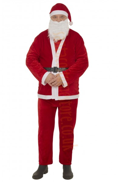 thin plush Santa suit - basic