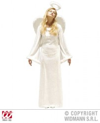 angel costume, long white dress for angel