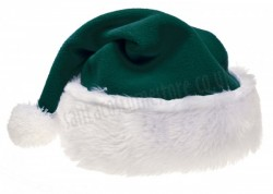 dark green Santa's hat