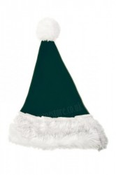 dark green Santa's hat for children