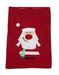 medium Santa sack, Santa sack with a drawstring