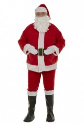 cheap interfacing Santa suit, felt Santa suit