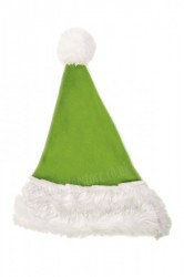 Light olive green Santa's hat for children