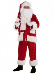 Professional Santa suit with long fur - basic set