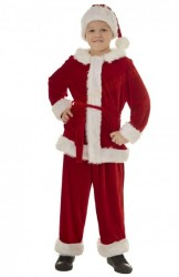 santa suit for boys, santa costume for children