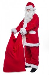 big Santa sack, Santa with sack
