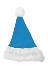 sky blue Santa's hat for children