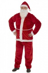 strong plush Santa suit - basic set