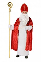 traditional Santa-bishop suit, the true Santa suit with coat